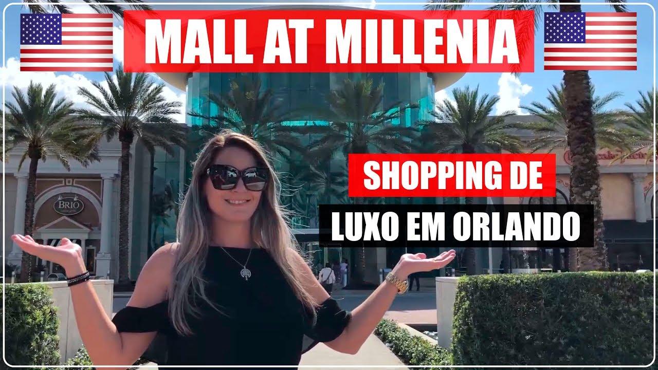 fbc55b042 MALL AT MILLENIA EM ORLANDO | SHOPPING DE LUXO NOS EUA - YouTube