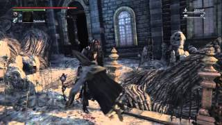 Bloodborne: Old Hunters - Amygdalan Arm [WEAPON LOCATION]
