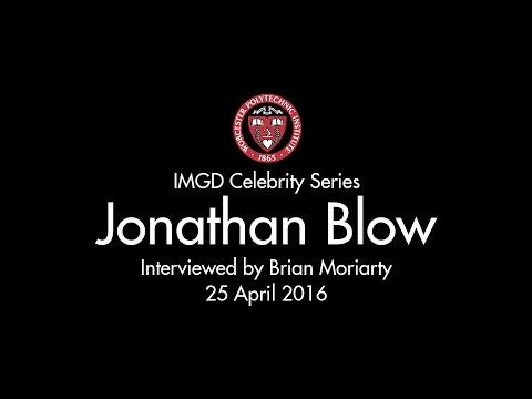 Jonathan Blow Interview @ WPI 25 April 2016