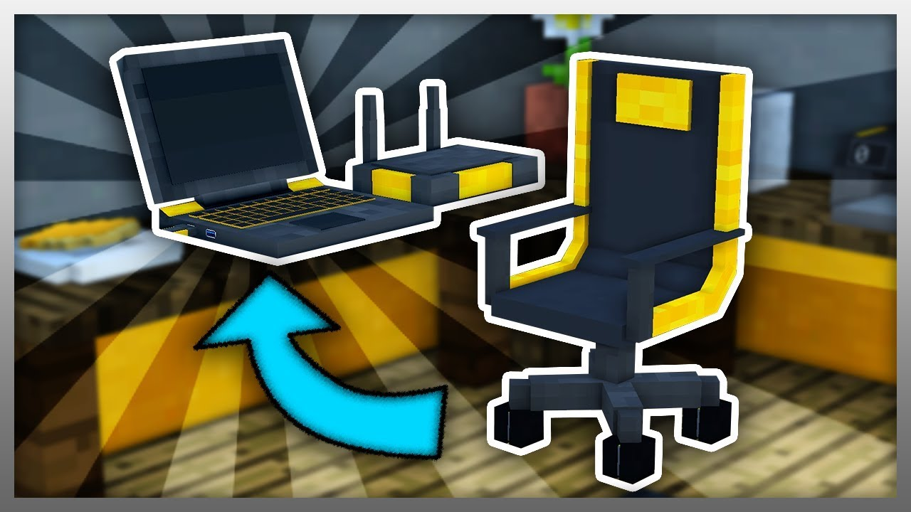 Working GAMING SETUP in Minecraft EPIC Minecraft Mod
