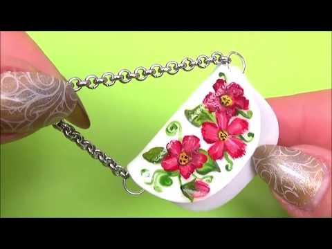 Diy miniature doll bag tutorial │ Miniature purse diy │ Easy miniature doll hand bag diy