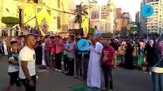 محافظ الإسكندرية ومدير الأمن يشاركان المواطنين صلاة عيد الفطر بمسجد