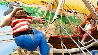 Аттракцион лодка - лодочка  Парк аттракционов  Парк развлечений  Видео для детей Детское видео