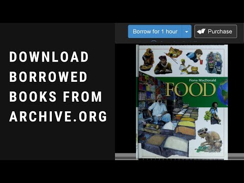 How To Download Borrowed Books From Archive Org | Decrypt Acsm PDF Files