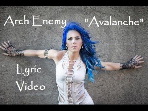 Arch Enemy - Avalanche (Lyric Video) War Eternal