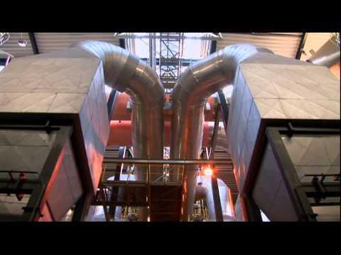 Denmark's largest waste management company / Дания, мусоросжигательный завод Вестфобрэндинг