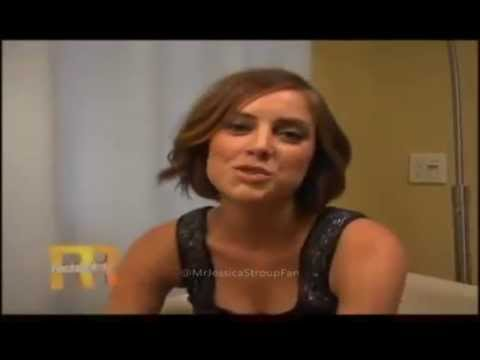 Jessica Stroup On Rachel Ray