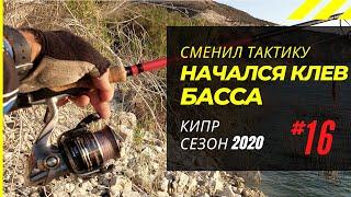 Сменил тактику и начался клёв басса. Рыбалка на Кипре