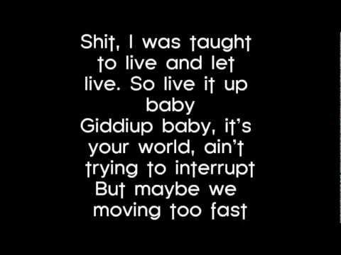 Lil Wayne - Marvin's Room Lyrics
