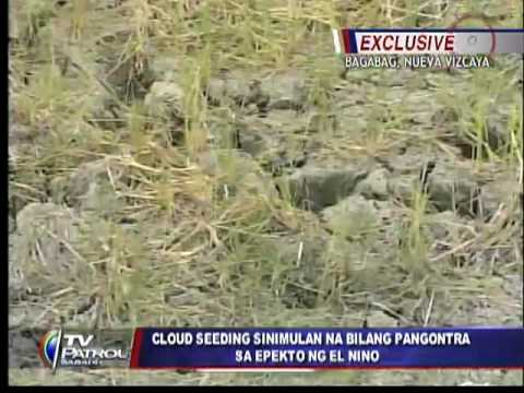 Philippines starts cloud seeding