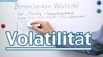Volatilität von Aktien und Aktienfonds - AktienMitKopf.de