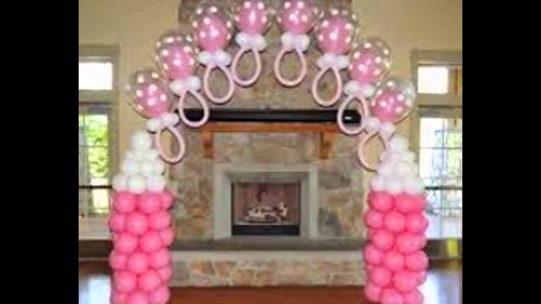 Amazing Baby Shower Balloons   YouTube