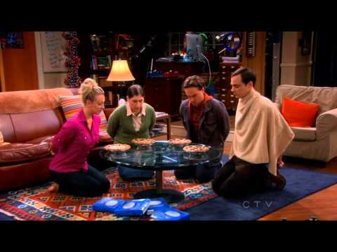 TBBT Game Night –  Where's Waldo, Wrestling, Kissing, Long Division and Pie Eating