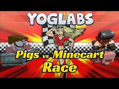 Minecraft Mods - Pig vs Cart - YogLabs