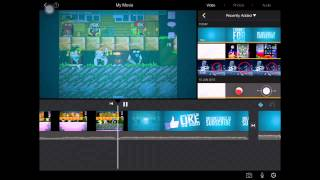Movie maker/video editor for IOS- simple tutorial to edit videos from iPad