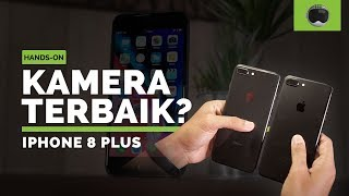 iPhone 8 Plus vs iPhone 7 Plus Hands-on + Unboxing Indonesia
