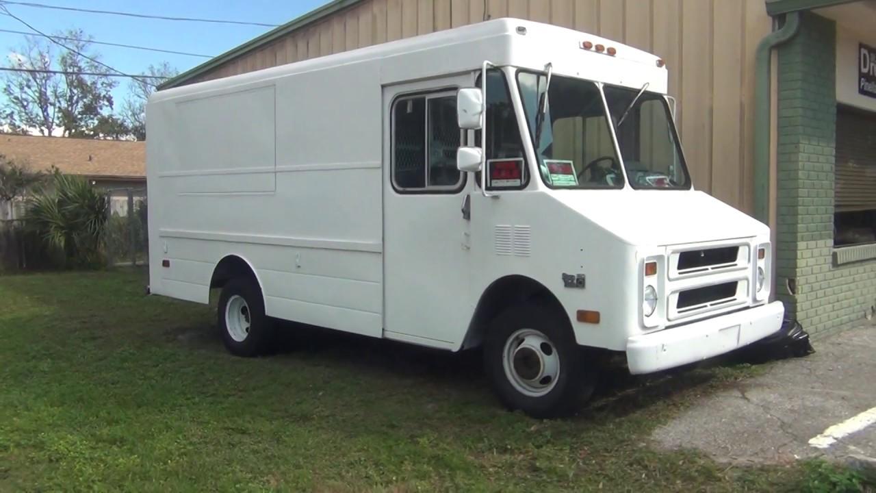 Step Vans For Sale >> 1991 Chevy Step Van 4 Sale In Florida 6000 00 Youtube