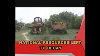 National resources left to decay