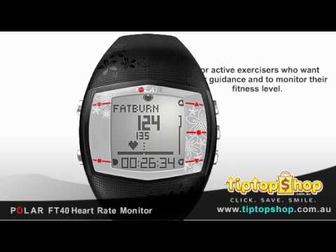 Polar FT40 Review Heart Rate Monitor Watch