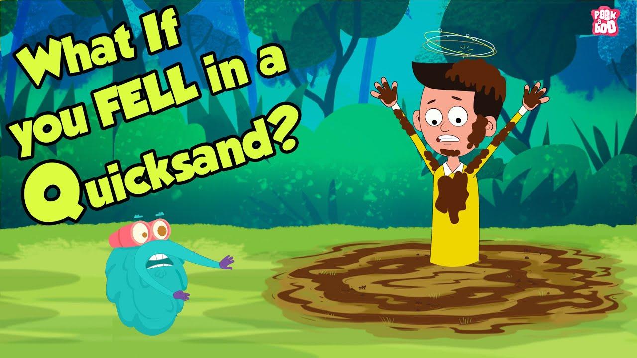 Download What If You Fell In A Quicksand? | QUICKSAND | Dr Binocs Show | Peekaboo Kidz