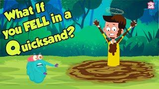 What If You Fell In A Quicksand? | QUICKSAND | Dr Binocs Show | Peekaboo Kidz
