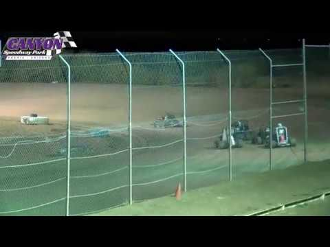 Canyon Speedway Park  Micro Sprint Heats  September 14 2019