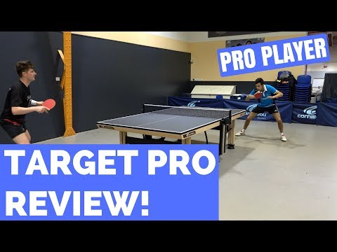 Cornilleau Target Pro GT Rubber Series Review with Can Akkuzu!