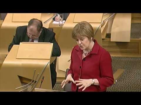 Plenary Session - Scottish Parliament: 19th December 2012