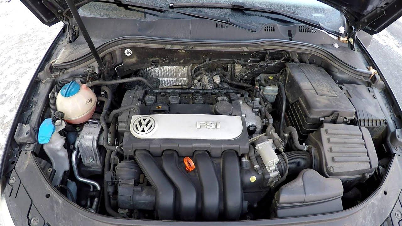 Volkswagen Passat B6 2 0 Fsi 110kw Very Cold Start