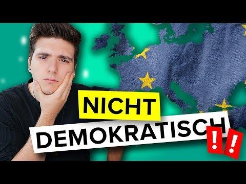 Darum sind die Europawahlen 2019 nicht demokratisch und so funktionieren sie!