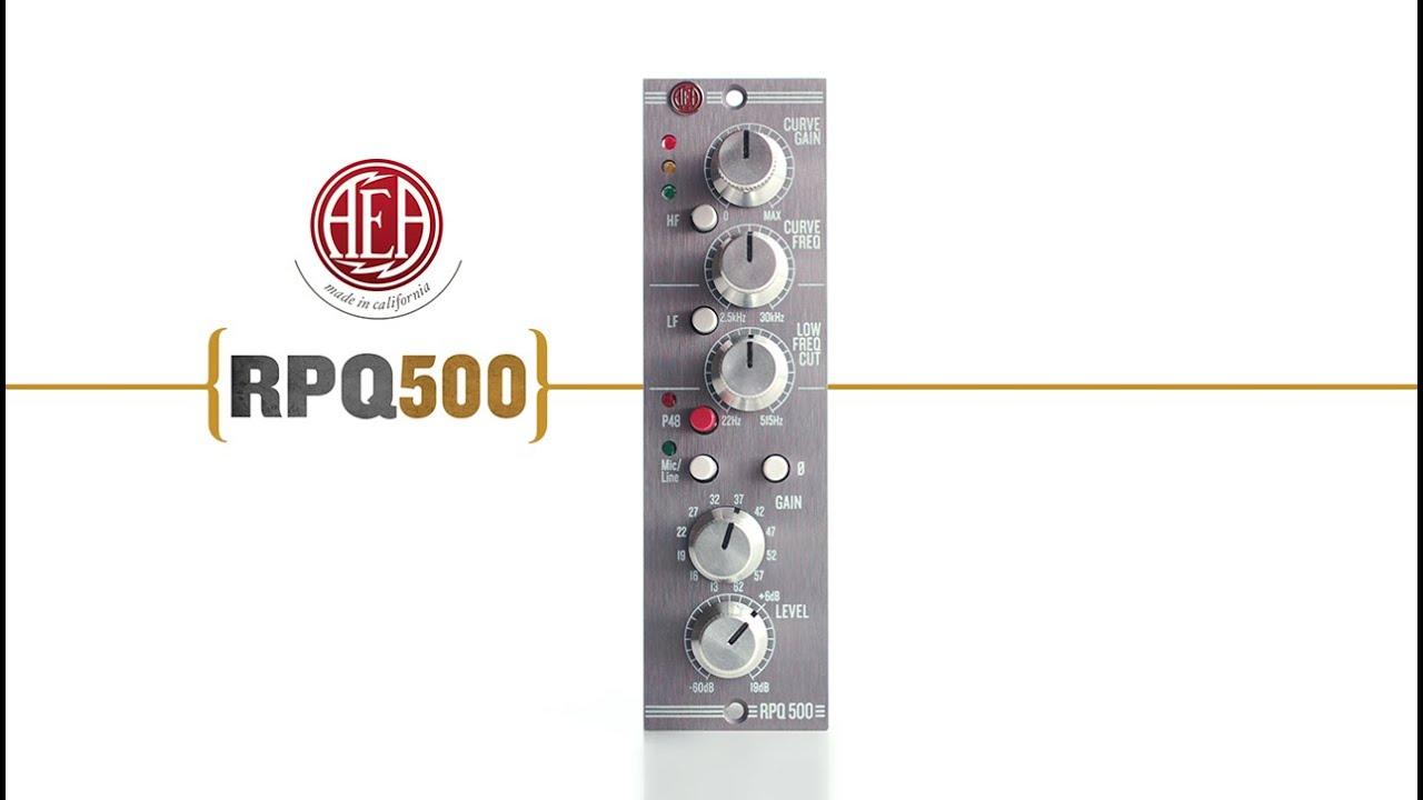 RPQ 500 Microphone Preamp