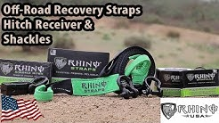 Rhino USA: Recovery Straps, Hitch Receiver, And Shackle Review