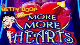 MORE HEARTS SLOT★BIG WIN SLOT MACHINE★BETTY BOOP BONUS★