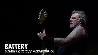 Metallica: Battery (Sacramento, CA - December 7, 2018) YouTube Videos