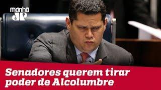 Senadores querem tirar poder de Alcolumbre, mas esbarram em presidencialismo brasileiro