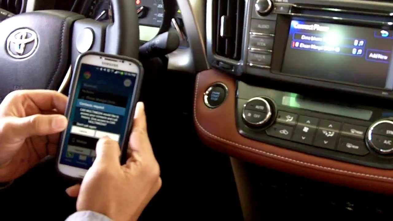 Used Rav 4 >> Toyota Bluetooth Setup Any Android Device - YouTube