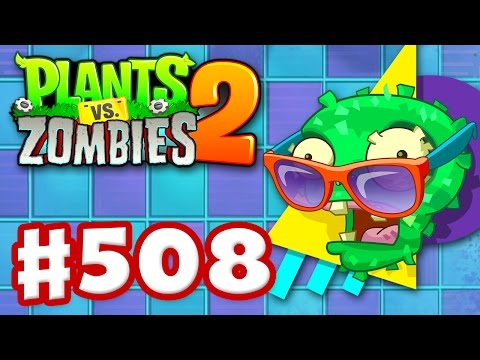 Plants vs. Zombies 2 - Gameplay Walkthrough Part 508 - Neon Mixtape Tour Pinatas! (iOS)