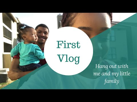 Vlog 1| Hang Out With Me & My Little Family| First Vlog