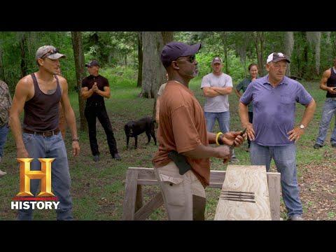 Swamp People: Bonus - Knife Throwing Battle: Finals (Season 9) | History
