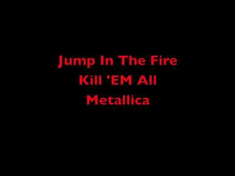 Jump In The Fire - Kill 'EM All - Metallica Lyrics