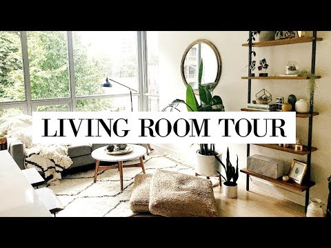 LIVING ROOM TOUR 🌿 | allanaramaa