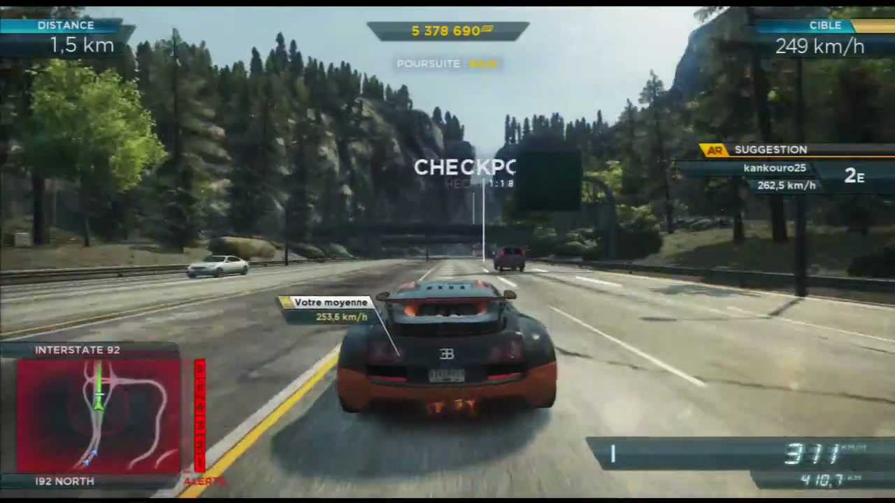 need for speed most wanted 2012 needle point bugatti. Black Bedroom Furniture Sets. Home Design Ideas