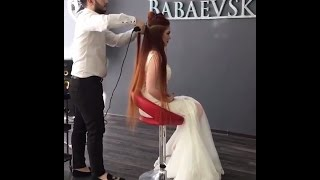 Gorgeous Hairstyles By @babaevski