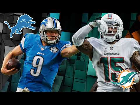 194cc752 Detroit Lions vs Miami Dolphins Week 7 Preview | Worldwide American ...