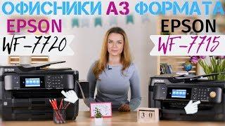 мФУ А3 формата, что выбрать: Epson WF-7720 или Epson WF-7715
