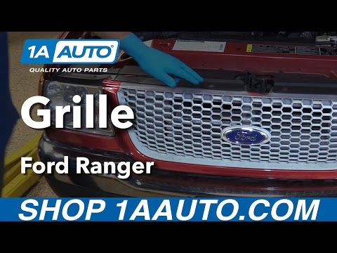How to Replace Grille 98-12 Ford Ranger