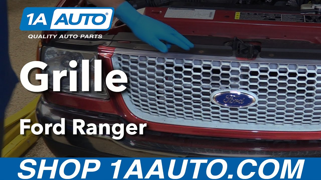 How to install replace grille 2001 ford ranger buy quality auto parts from 1aauto com youtube