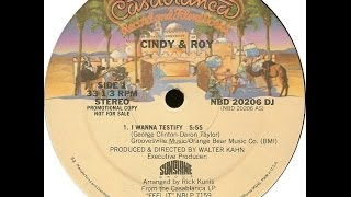 Watch Cindy  Roy I Wanna Testify video
