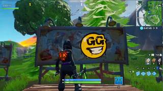 Visit graffiti covered billboards in a single match - FORTNITE SEASON 10 WEEK 2 LEAKED SPRAY & PRAY