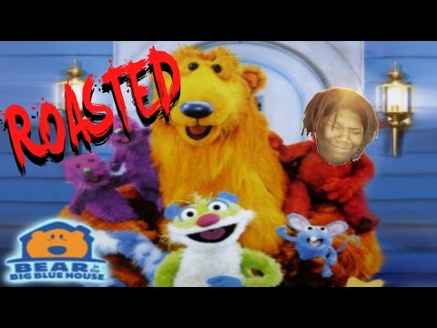 bear in the big blue house: exposed (roasted)